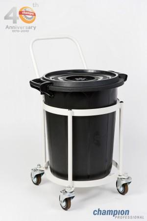 รถเข็นถังขยะ ขนาด 65L (ไม่รวมถังขยะ)